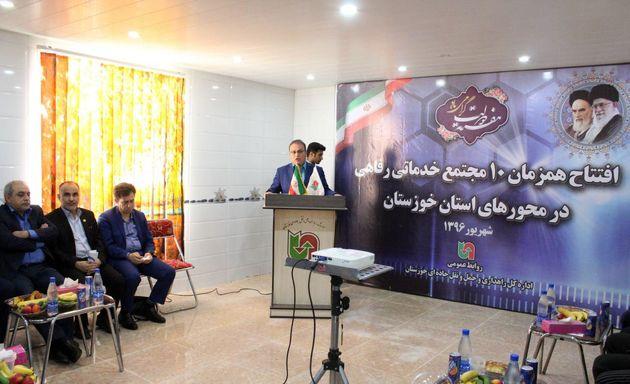 بهره برداری از 10 مجتمع خدمات رفاهی بین راهی در خوزستان