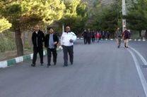همایش کوهپیمایی مدیران شهرداری منطقه 6 در ارتفاعات شهرک شهید محلاتی