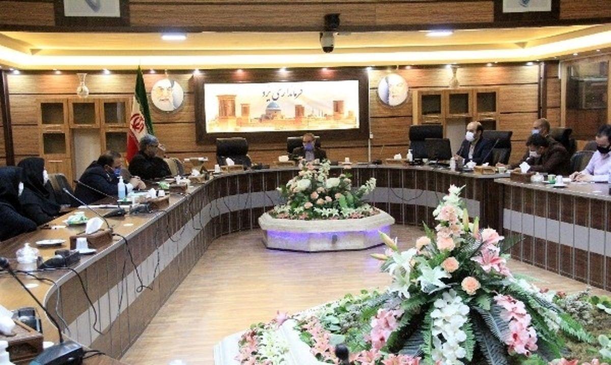 افتتاح یک واحد صنعتی در زارچ توسط فرماندار و برخی اخبار کوتاه فرمانداری یزد