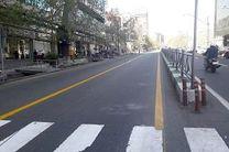 اجرای عملیات مرمت خط کشی توسط شهرداری ناحیه 5