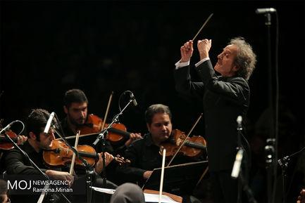 اجرای ارکستر سمفونیک تهران به رهبری شهرداد روحانی