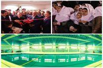 استخر آموزشی دانش آموزی در دولتآباد کرمانشاه افتتاح شد