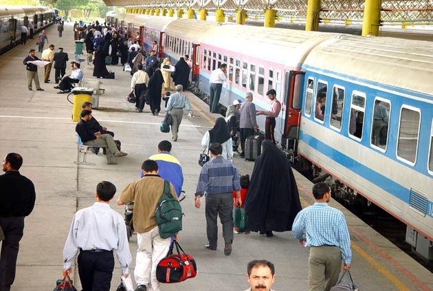 ۳۰درصد ظرفیت قطارهای نوروزی پر شد