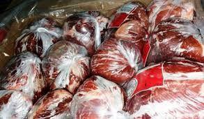 کشف و توقیف 360 کیلو گوشت منجمد وارداتی تاریخ مصرف گذشته در مبارکه
