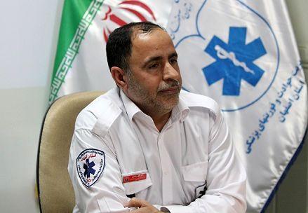 افزایش 2.5 برابری ماموریتهای احیای موفق فوریتهای پزشکی استان اصفهان