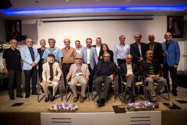 بزرگداشت بزرگان فرهنگ در شب مهمانی هنر تهران