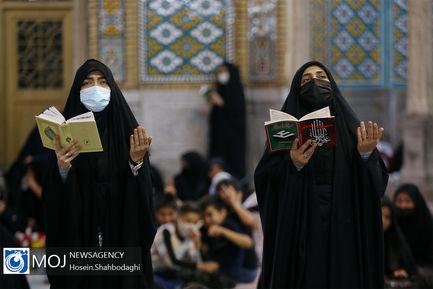 احیای شب نوزدهم ماه مبارک رمضان در جوار حرم حضرت معصومه (س)