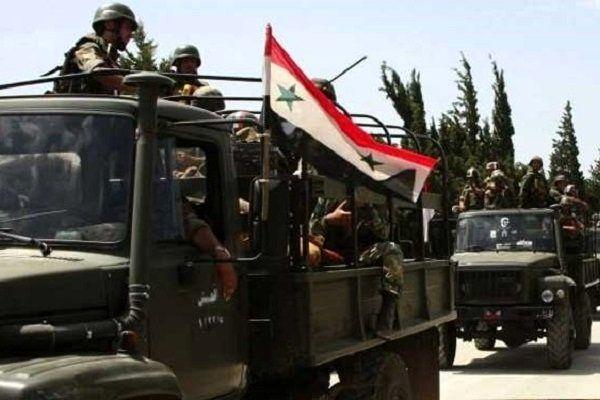 محاصره حرستا توسط ارتش سوریه شکسته شد
