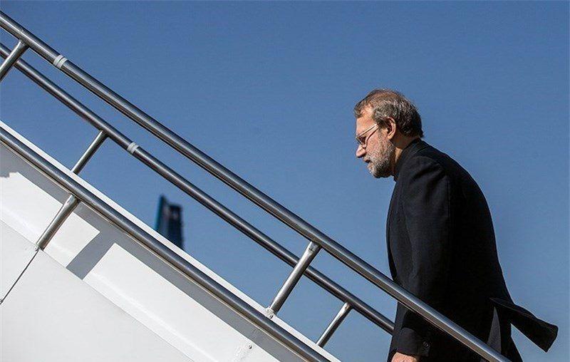 لاریجانی ترکیه را به مقصد ایران ترک کرد