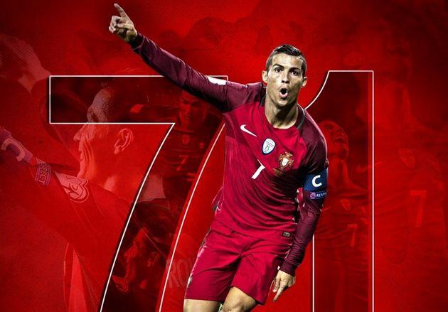 رونالدو به جمع 10 گلزن برتر تاریخ فوتبال ملی رسید/ کریس 38 گل تا رسیدن به رکورد دایی