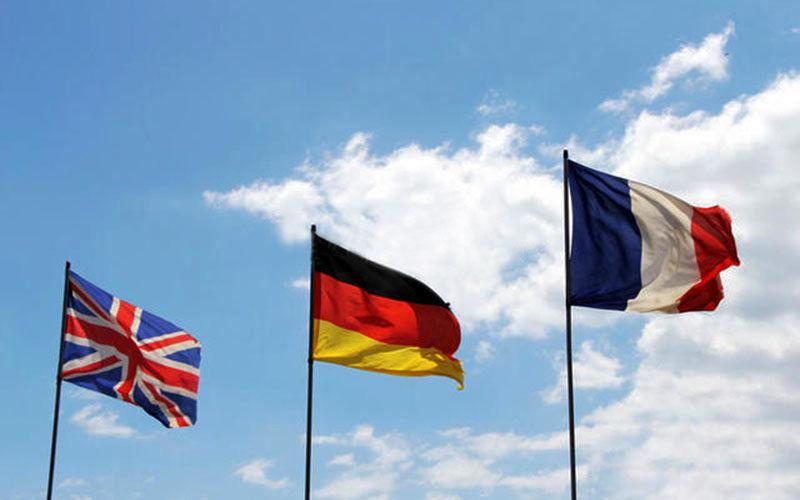 انگلیس، آلمان و فرانسه به ایران هشدار دادند