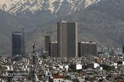 کیفیت هوای تهران در 25 خرداد 98 سالم است
