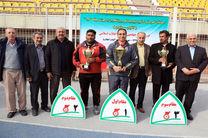 تیم گلستان در جایگاه نایب قهرمانی ایستاد