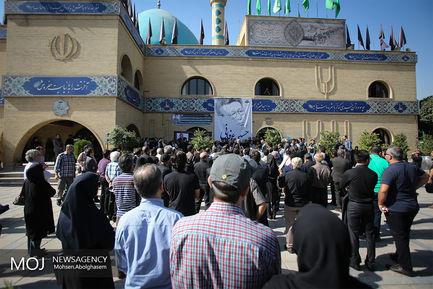 تشییع پیکر حسینعرفانیدوبلور پیشکسوت