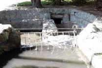 تخلیه ۶۰ تن رسوبات از قنات عباس آباد