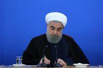 روحانی قهرمانی کشتی گیران نوجوان ایران در جهان را تبریک گفت