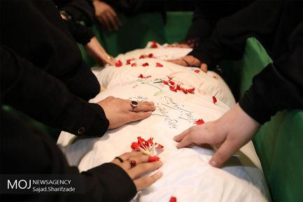 وداع با پیکر شهید حسین زند پس از ۳۰ سال