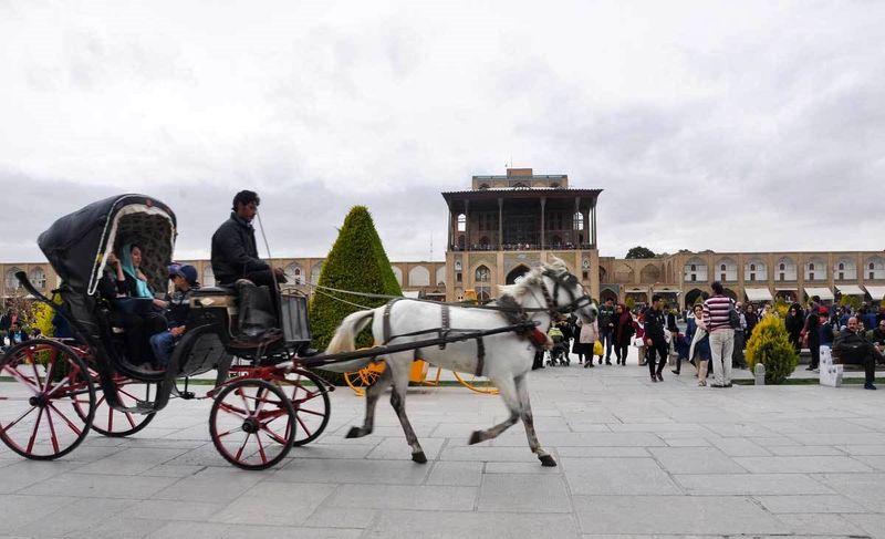 اقامت بیش از یک میلیون مسافر نوروزی در اصفهان