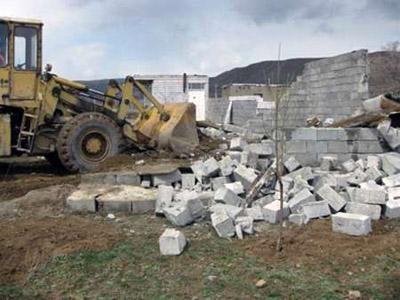 هشت هزار و 500 مترمربع زمین خواری در آبادان طی دو هفته صورت گرفت