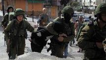 رژیم صهیونیستی 26 فلسطینی را در کرانه باختری بازداشت کرد