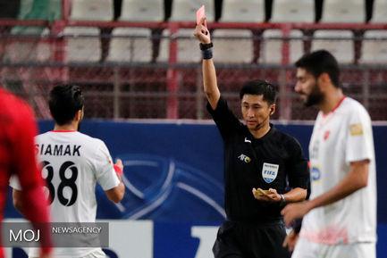 دیدار تیم های فوتبال کاشیما آنتلرز ژاپن و پرسپولیس ایران