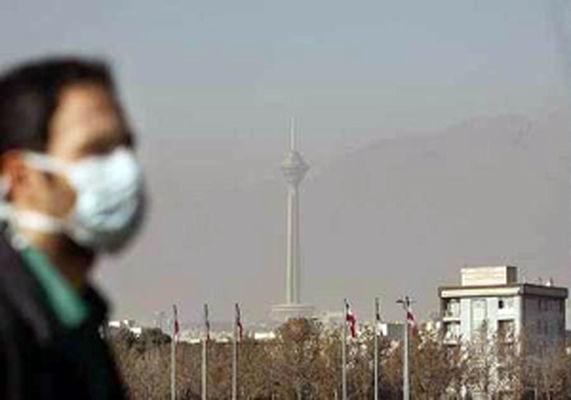 شاخص کیفیت هوای تهران در روز 10 بهمن 114 و ناسالم برای گروه های حساس