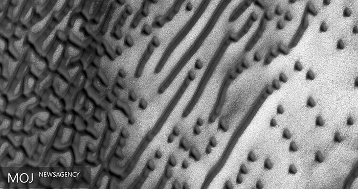 نوشتههای مرموز روی سطح مریخ چه هستند؟