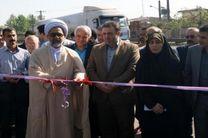 افتتاح ۴۴ پروژه عمرانی در بخش سنگر