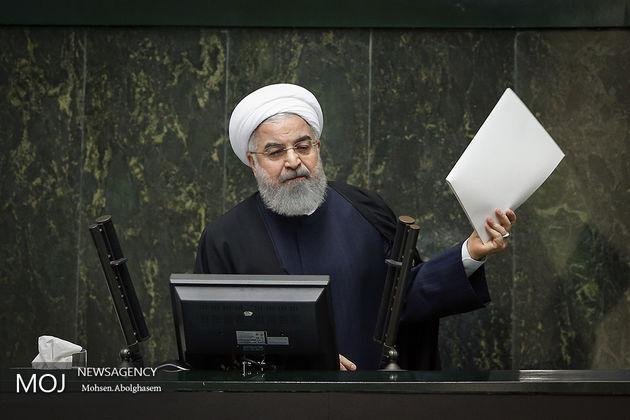 زمان حضور روحانی در مجلس اعلام شد