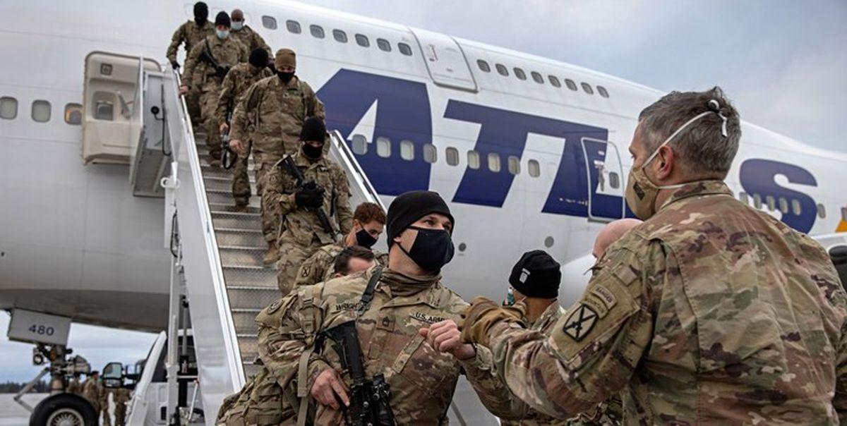نیمی از نظامیان آمریکا از خاک افغانستان خارج شدند