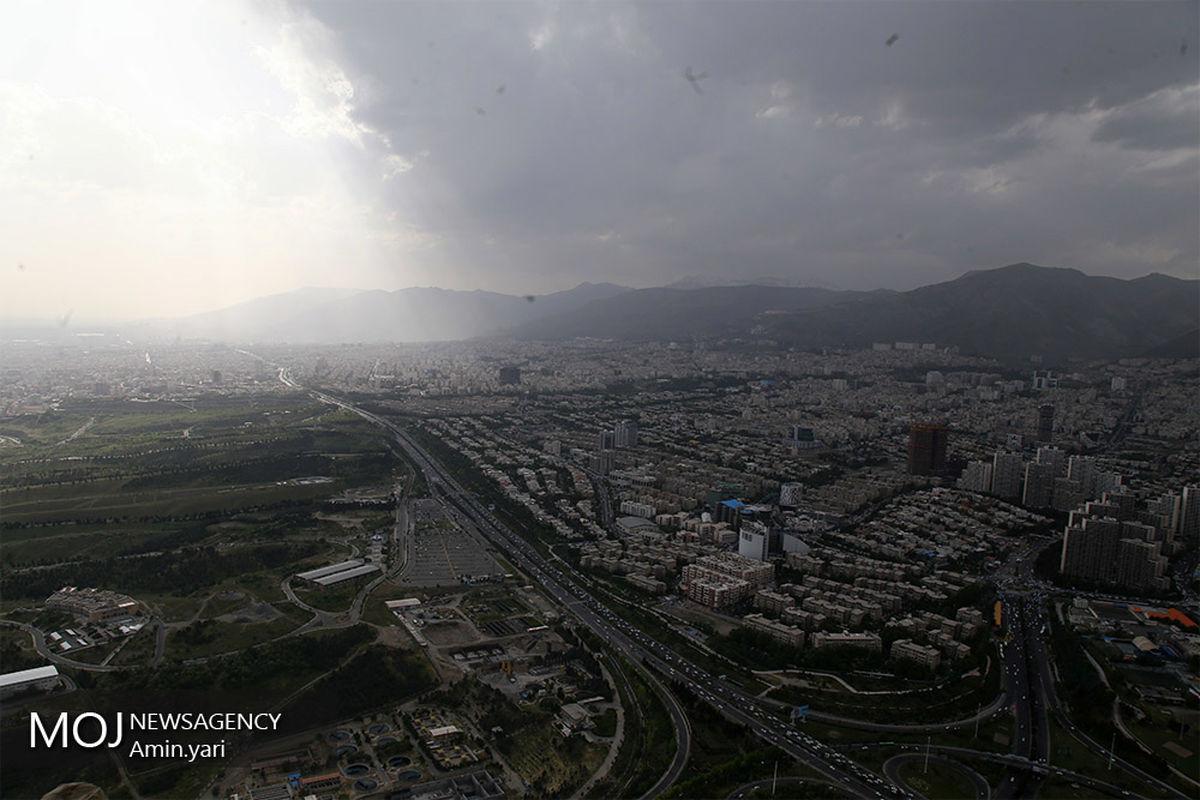 کیفیت هوای تهران ۲۷ دی ۹۹ /شاخص کیفیت هوا به ۸۱ رسید