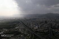 کیفیت هوای تهران ۲۶ تیر ۹۹/ شاخص کیفیت هوا به ۷۴ رسید