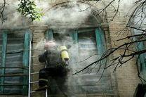 یک میراث ملی فرهنگی در کرمانشاه طعمه حریق شد