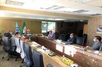 نشست احمد مرادی با مدیرعامل شرکت توسعه و نگهداری اماکن ورزشی کشور