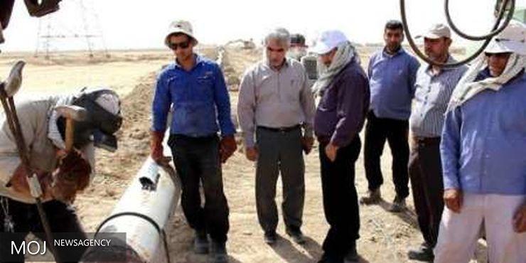 آغاز پروژه اتصال شبکه آبرسانی شادگان به پتروشیمی بندر امام(ره)