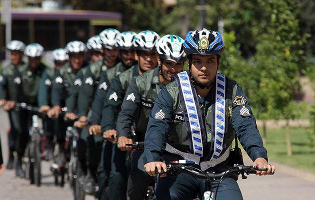 فعالیت پلیس دوچرخهسوار در پایتخت از نیمه دوم سال