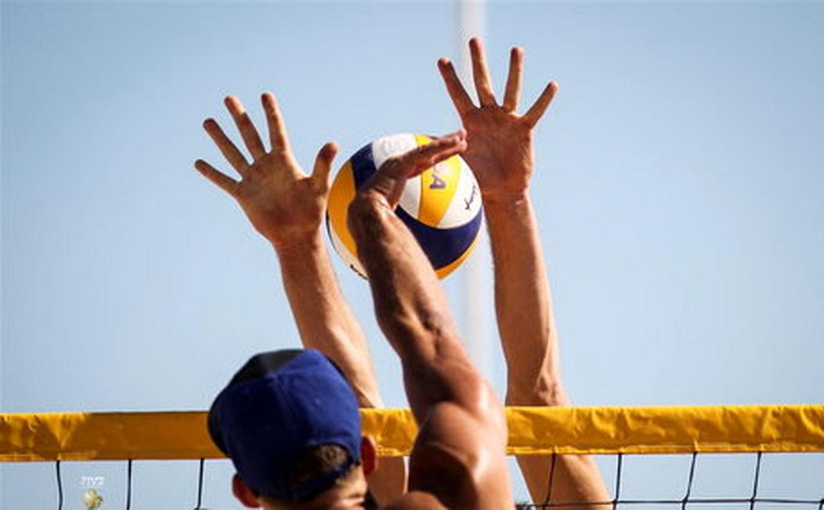 منطقه آزاد قشم قهرمان والیبال ساحلی شد