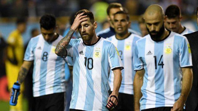 اتحاد تیم های آمریکای جنوبی برای حذف آرژانتین از جام جهانی 2018