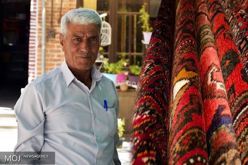 محرم سیاهتیری پیشکسوت صنعت فرش دستباف لرستان درگذشت