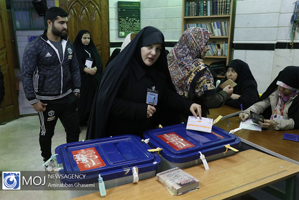 انتخابات در مسجد حضرت رسول اکرم (ص) محله نازی آباد