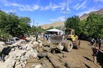 ادامه عملیات جستجو برای یافتن مفقودان در سیل علیآبادکتول/ ۱۵ راه روستایی در استان گلستان بازگشایی شد