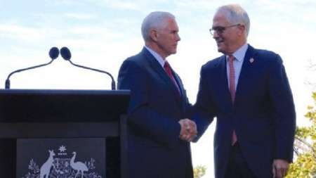 هدف سفر معاون رئیس جمهور آمریکا به استرالیا چه بود؟