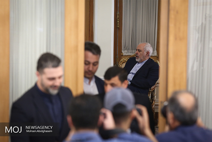 دیدار معاون وزیر امور خارجه ونزوئلا با محمدجواد ظریف