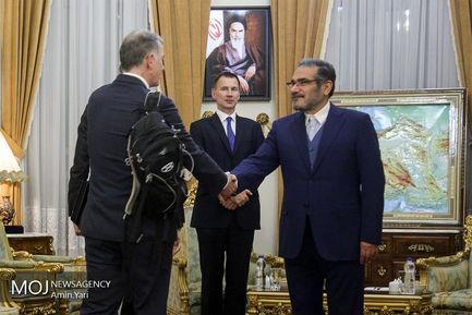 دیدار+وزیر+خارجه+انگلیس+و+دبیر+شورای+عالی+امنیت+ملی