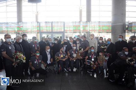 ورود اولین گروه از کاروان اعزامی به پارالمپیک