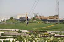 افتتاح بزرگترین زیپ لاین تهران در موزه انقلاب اسلامی و دفاع مقدس