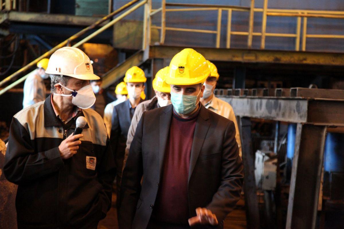 تولید ریل زبانه شرکت ذوب آهن اثر تحریم بر این محصول را خنثی کرد