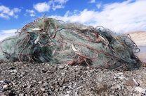 جمع آوری بیش از ۲ هزار متر دام ماهیگیری از سد زاینده رود