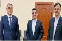 دیدار و گفتگو سفیر ایران در باکو با وزیر حمل و نقل و ارتباطات آذربایجان