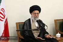 طلاب حوزههای علمیه استان تهران با رهبر انقلاب دیدار کردند